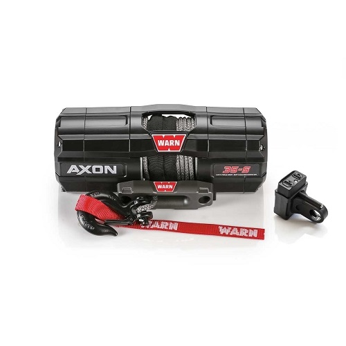 Winch Kit Axon 3,500lb Synthetic Rope - WARN