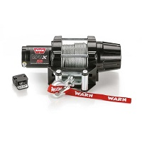 Winch Kit VRX 25 2,500lb Winch Metal Cable - WARN