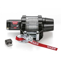Winch Kit VRX 35 3,500lb Winch Metal Cable - WARN